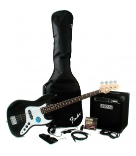 AFFINITY SERIES JAZZ BASS, RUMBLE 15 FENDER PACK BAJO