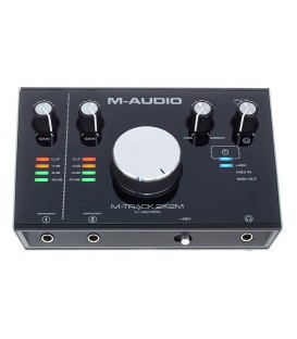 INTERFACE AUDIO-MIDI M-AUDIO M-TRACK 2X2M