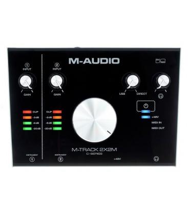 INTERFACE AUDIO-MIDI M-AUDIO M-TRACK 2X2M