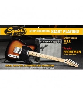 PACK GUITARRA ELECTRICA TELECASTER SQUIER FENDER