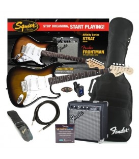 AFFINITY SERIES FENDER PACK GUITARRA ELECTRICA