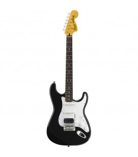 BLACK AND CHROME STANDARD STRATOCASTER® HSS GUITARRA SQUIER