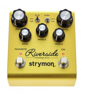 PEDAL DE SATURACION Y DISTORSION STRYMON RIVERSIDE
