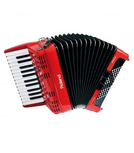 FR-1X RED ACORDEON VIRTUAL ROLAND