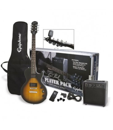 PACK DE GUITARRA ELECTRICA EPIPHONE LES PAUL PLAYER VS