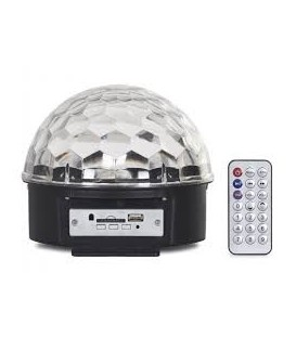 MINI BOLA LED MP3 MINIBALL07U FONESTAR