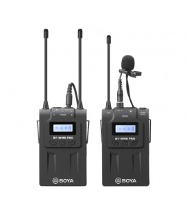 KIT DE MICROFONO INALAMBRICO BOYA BY-WM8 PRO-K1 UHF