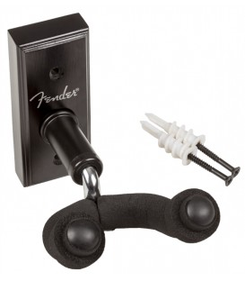 SOPORTE DE PARED PARA GUITARRA FENDER WALL HANGER BK