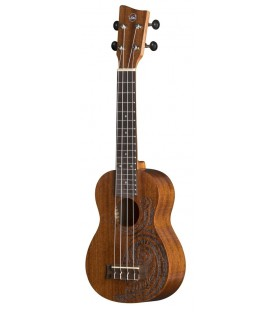 UKELELE SOPRANO VGS MANOA KALEO TATTOO KT-SO-MAORI