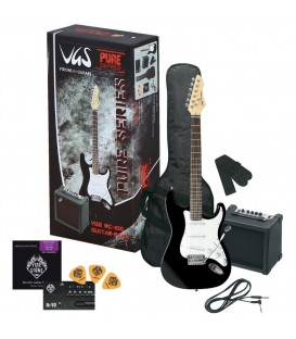 PACK DE GUITARRA ELECTRICA VGS RC-100 BK