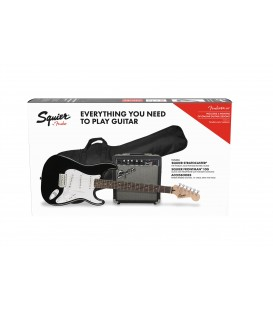PACK DE GUITARRA ELECTRICA FENDER BLK