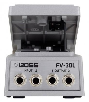 PEDAL DE VOLUMEN DE BAJA IMPEDANCIA BOSS FV-30L