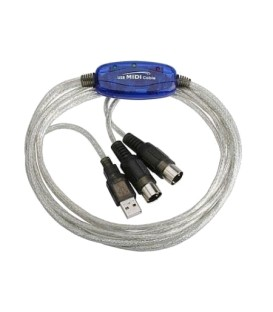 CABLE INTERFAZ USB-MIDI ASHTON USBMD