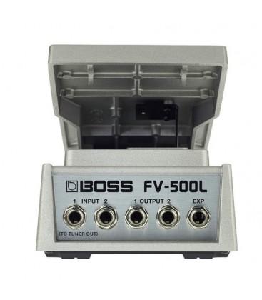 PEDAL DE VOLUMEN DE BAJA IMPEDANCIA BOSS FV-500L